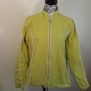 Danskin Now Lime Green activewear Jacket